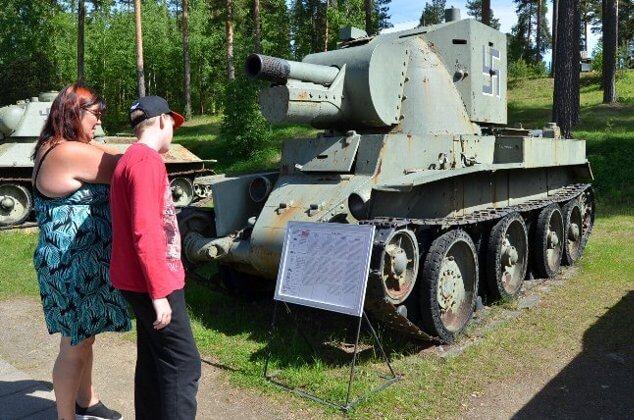 第二次世界大戦で活躍した実車が...